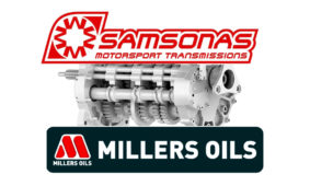 Millers Oils announces a Technical Partnership with Samsonas Motorsport Transmissions