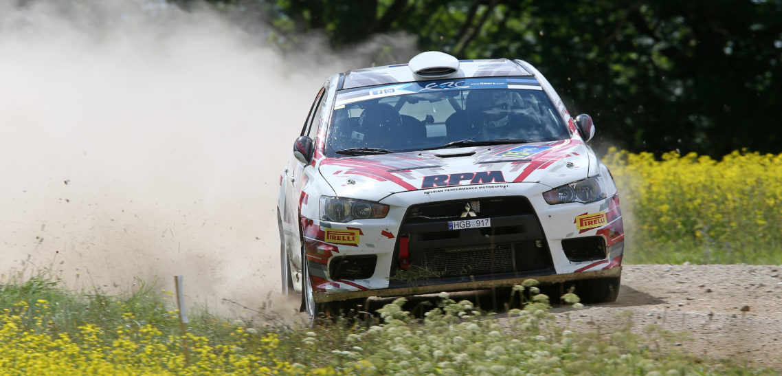 ERC Rally Estonia 2014