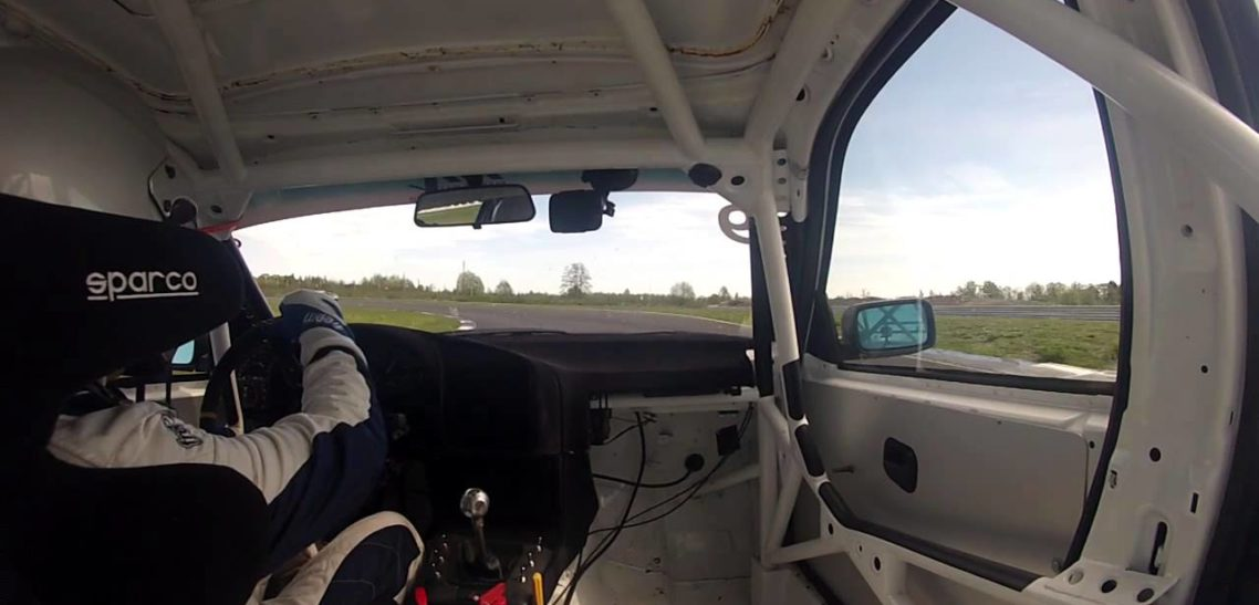 Training in Auto24Ring racing track