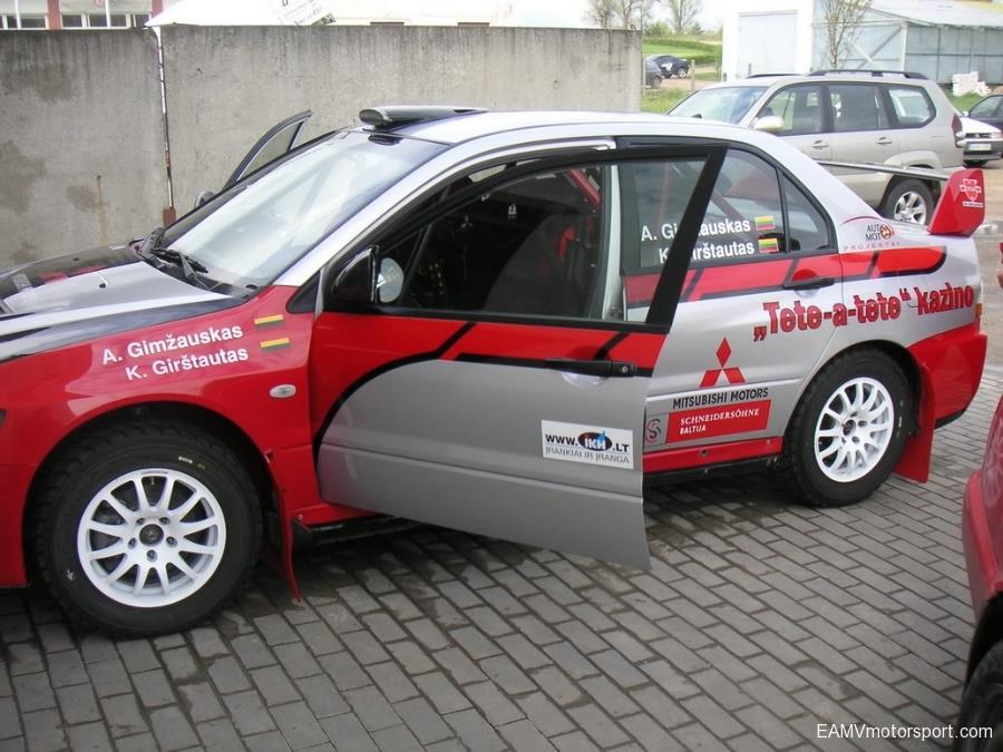 Mitsubishi Evo 9 | EAMV Motorsport